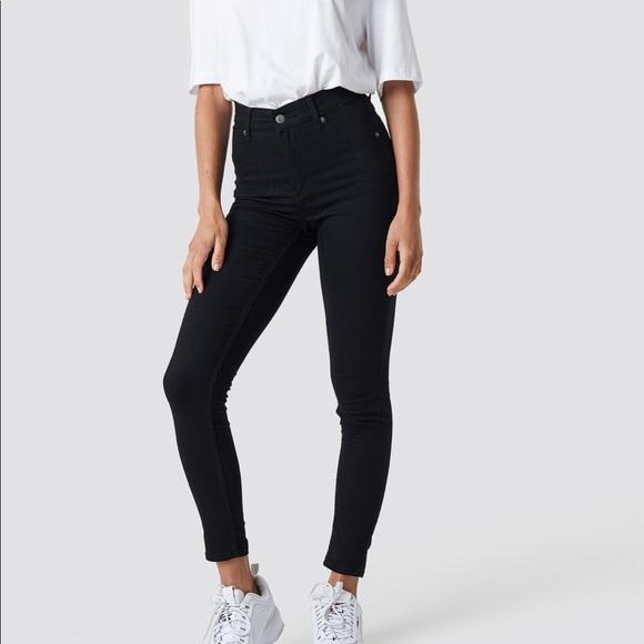 Frame Denim Denim - FRAME Black skinny jeans